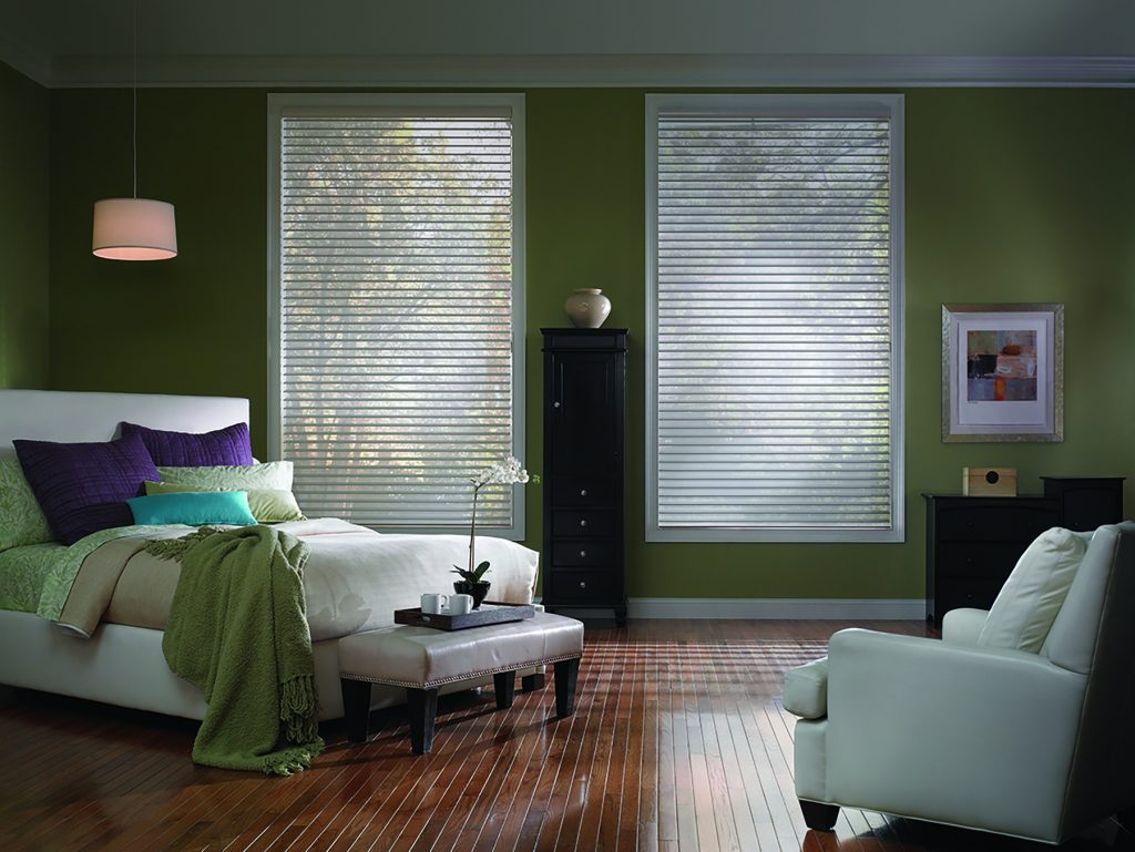 sheer shades bedroom ideas