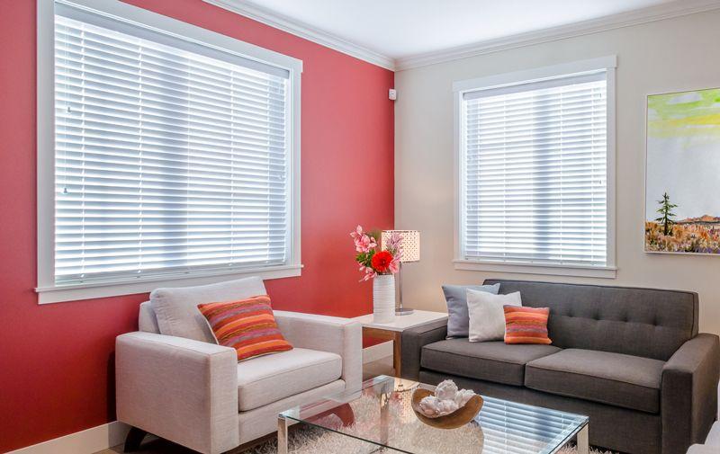 wood blinds ideas living room 2 ideas