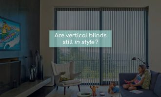 Are vertical blinds still in style? blog post at Starlite Blinds & Shutters
